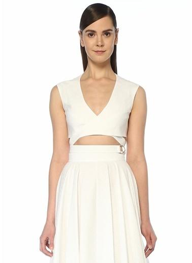Alaia Bluz Beyaz